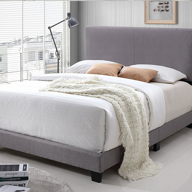 Best Selling high quality modern  upholstered bed 023
