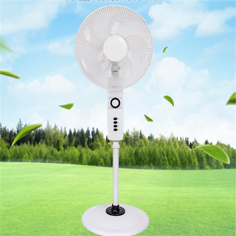16 inch (40cm)And 18 inch(45cm) Plastic Cooling Stand Fan Pedestal Fan with Stable Round Base