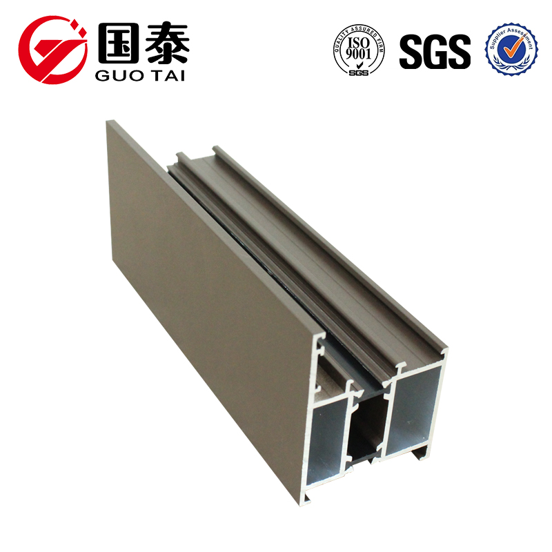 High quality broken bridge windows aluminum profile