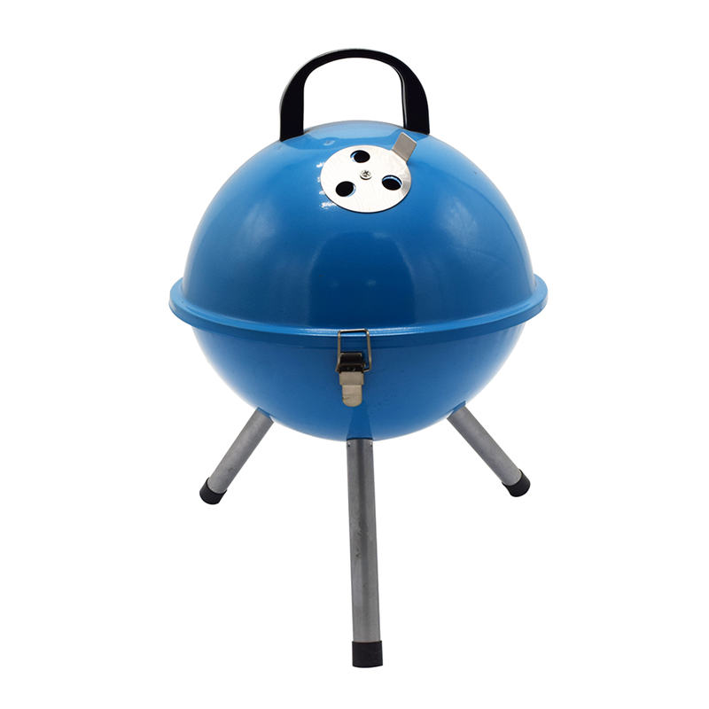 Mini Portable Kettle Type Kamado Grill Charcoal Grill