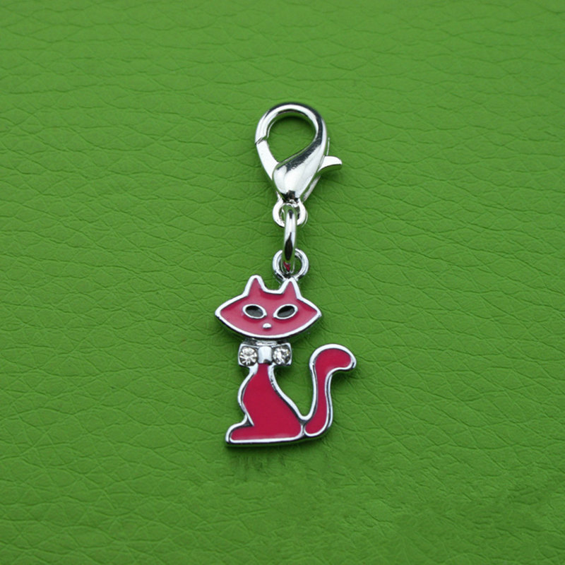 Provide Zinc Alloy Pet Products Cat Pendant Dog Hanging Ornament
