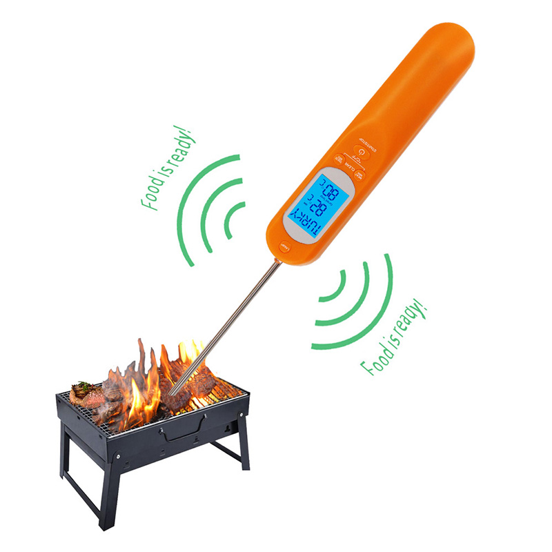 2019 New Design Some Parts of Digital Thermometer to Measuring All Kinds of Meat Thermometer with Clock and Timer