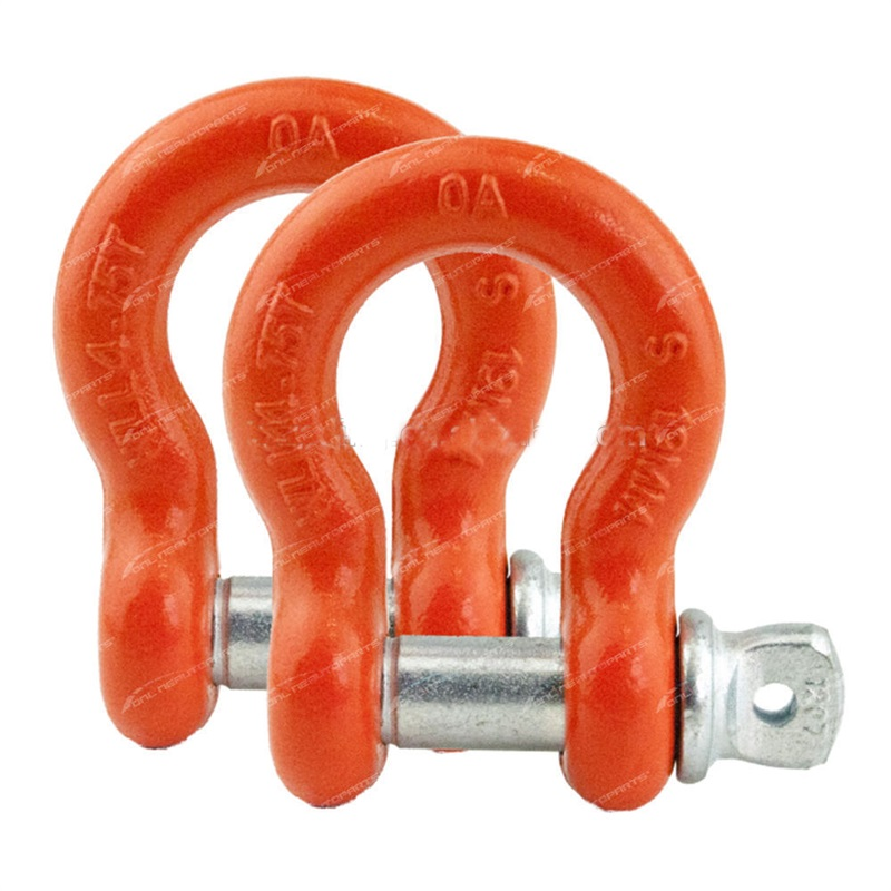 Drop Forged US Type G209 Screw Pin Bow Shackle/Marine Bow Shackle