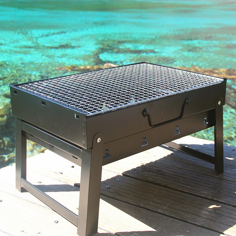 Original BBQ Outdoor 5 People Charcoal BBQ Full Field BBQ Grill