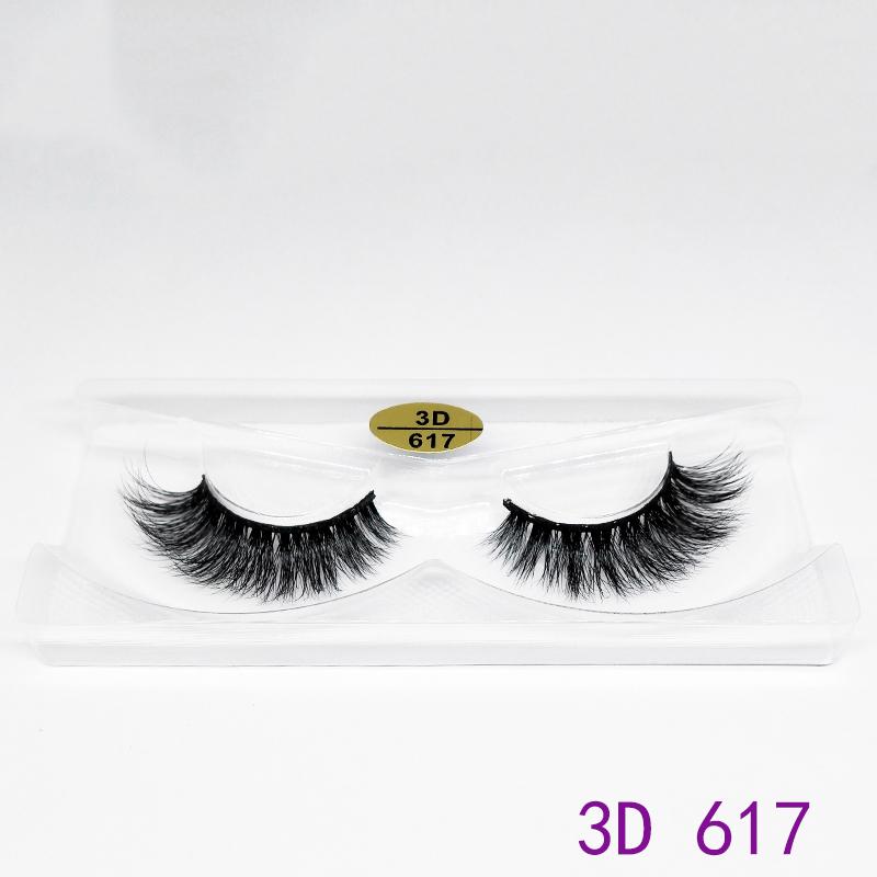 3D Stereo Mink False Eyelashes