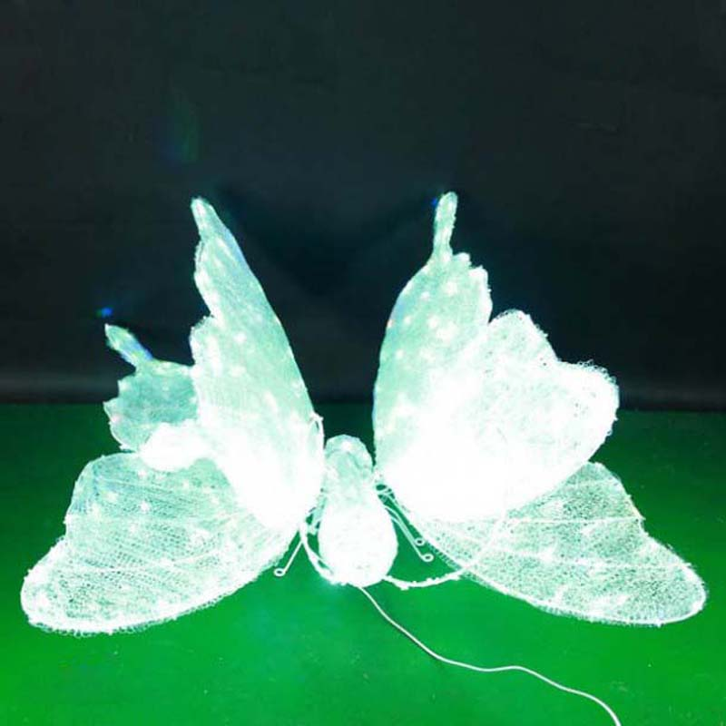 CD-LS122 3D LED Lighted Butterfly Modeling Light Decorations