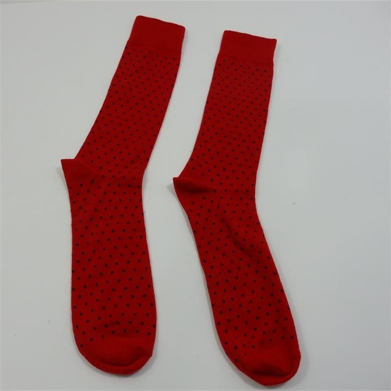 Men's dress socks with high quality