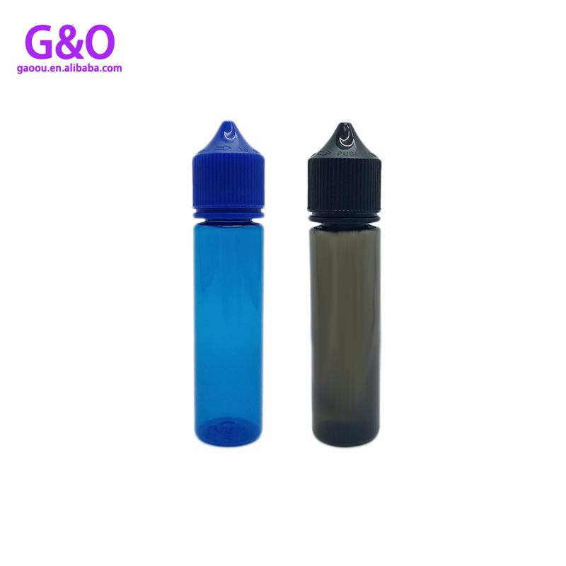 60ml bottle eliquid unicorn eliquid bottle new v3 black blue plastic pet chubby gorilla unicorn vape dropper bottles