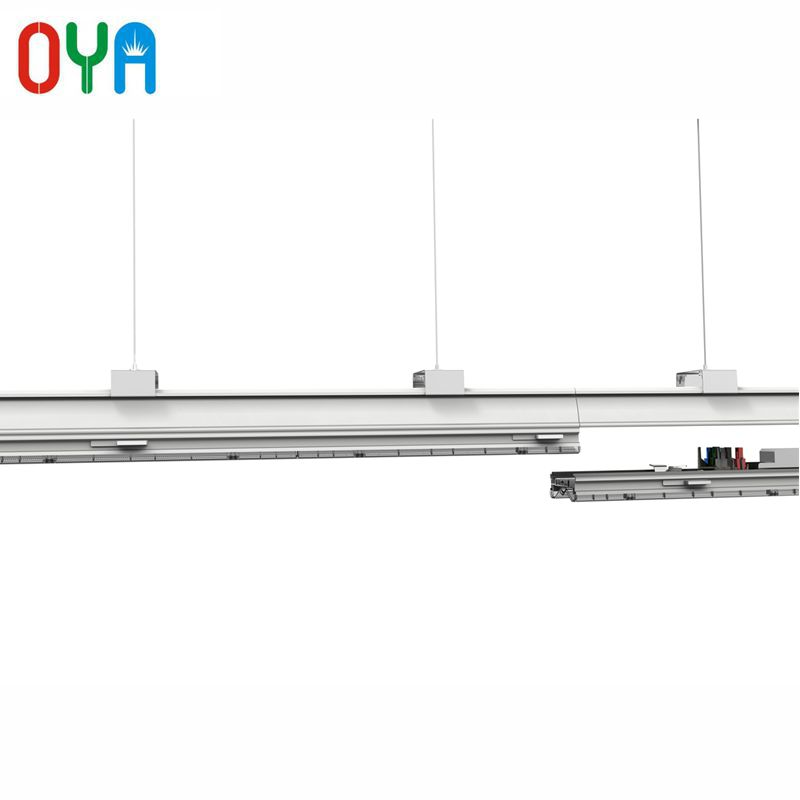 Dali Dimmable 40W LED Linear Trunk Lighting system 1200mm with 7 wire track rail