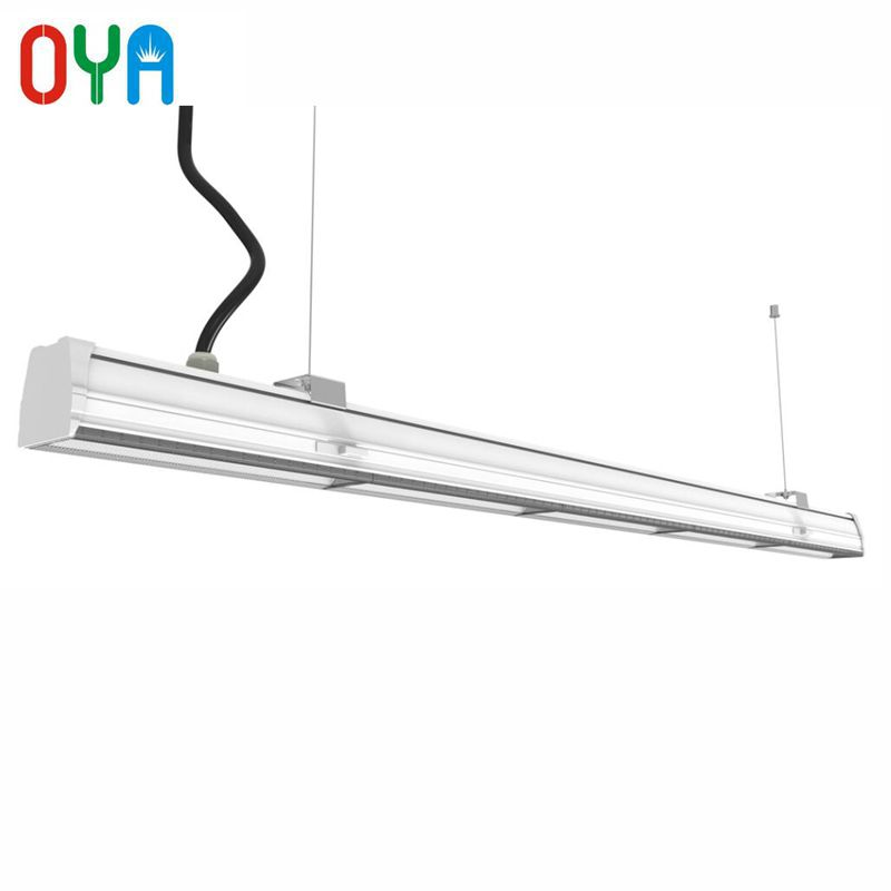 Dali Dimming 60W LED Linear trunk Lighting system 1500mm with 7 wire Trunking Rails