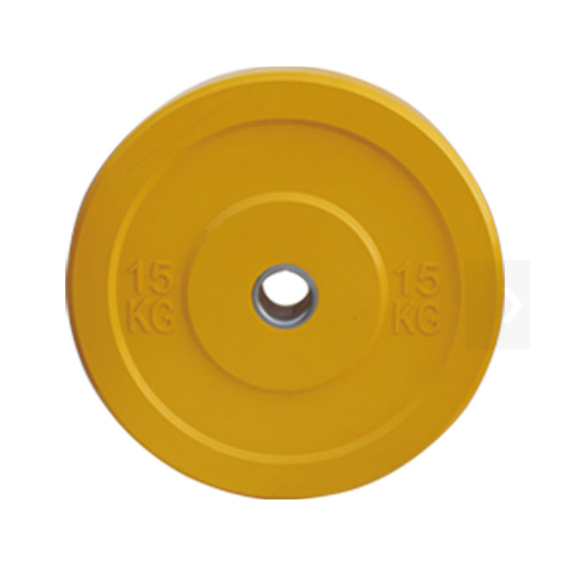 vulcan color rubber bumper plate