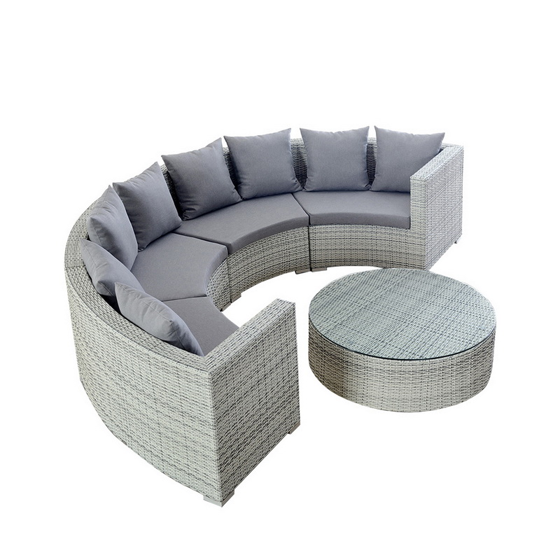 Comfortable Sectional Corner Outdoor Seating Sets