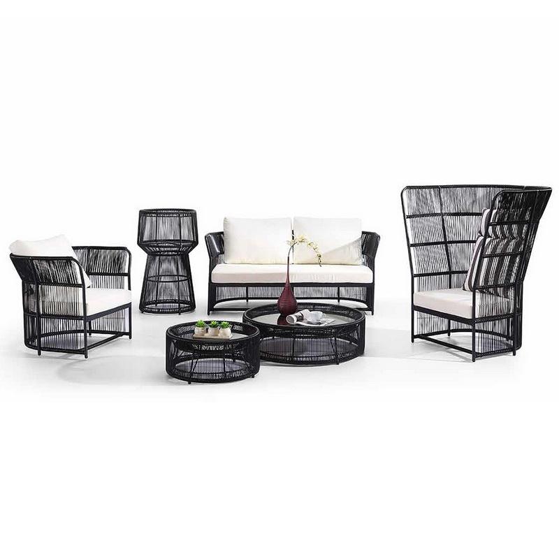 Modern Outdoor Garden Furniture Rattan Sofa Set