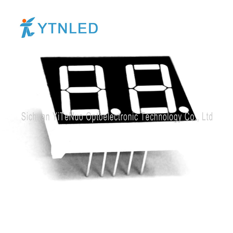 0.56 inch 2 digit red 7 Segment LED display, digital tube