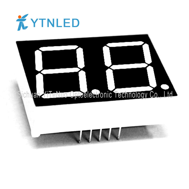 0.8 inch 2 digit red 7 Segment LED display, digital tube