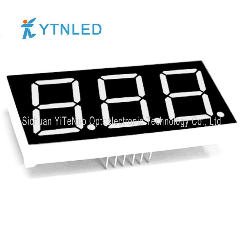 0.8 inch red 3 digit 7 Segment LED display, digital tube