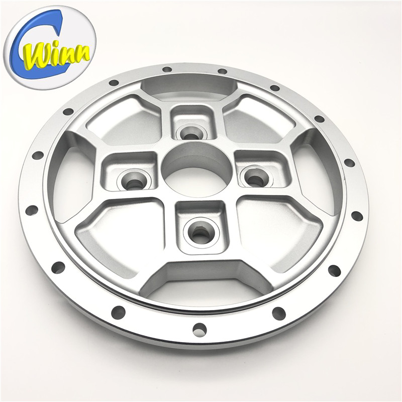Customized forging/CNC Machining Aluminum wheel rim center Auto Parts Spare Parts After Sales Parts