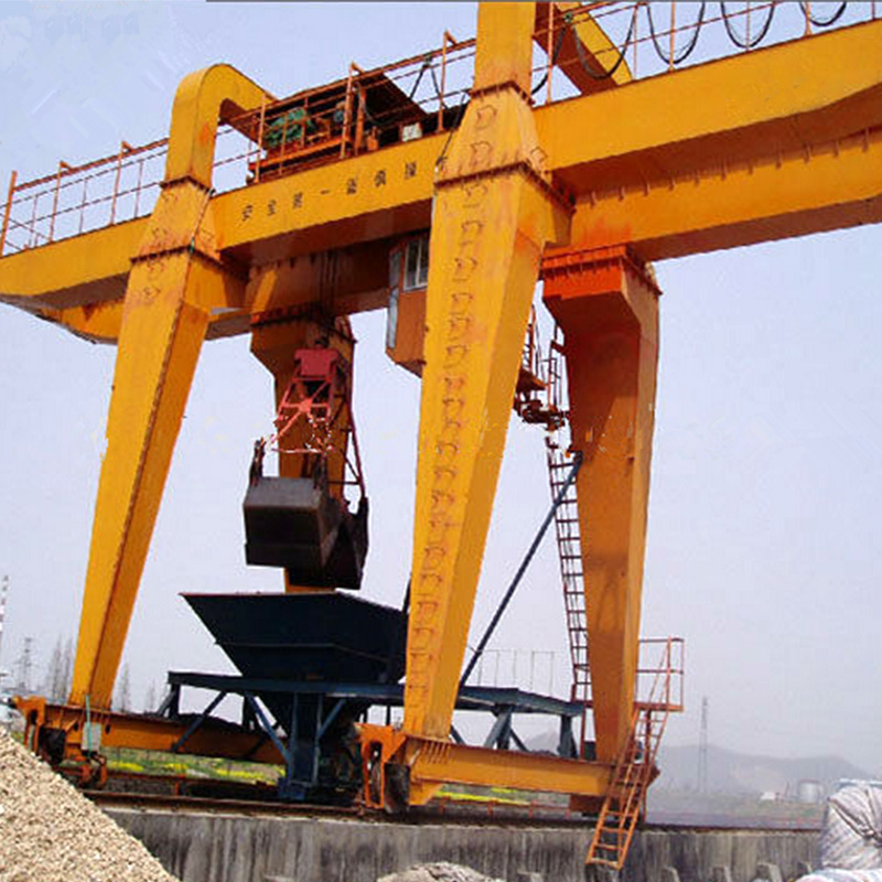 Gantry Crane with Grab
