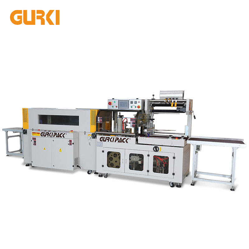 Up to 40 PCS/min Automatic Heat Shrink Wrapping Machine | GPL-5545C+GPS-5030LW