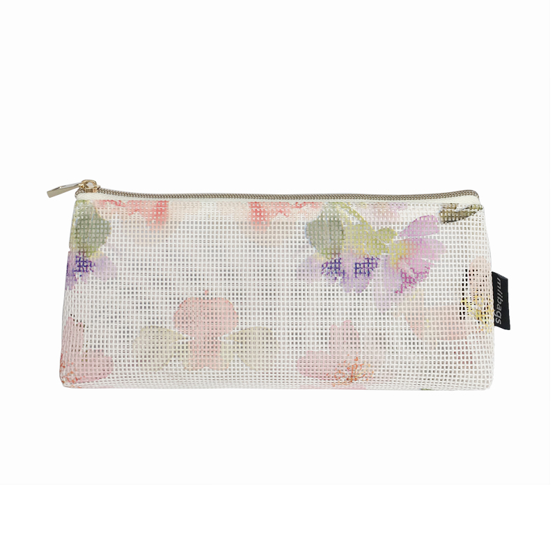 Fasion flower printing  personalized cosmetic bag