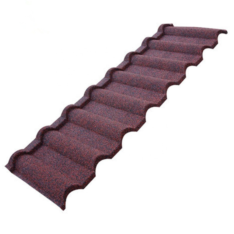 color stone roof tile
