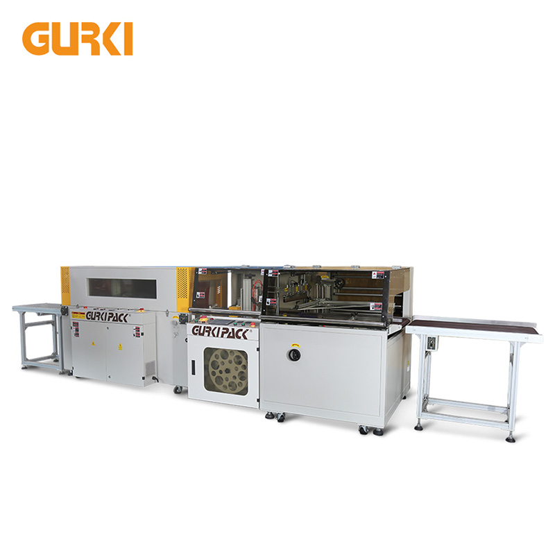 Automatic High Speed Side Sealing and Shrinking Machine GPL-5545H+GPS-5030LW