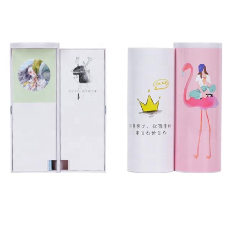Flamingo Pencil Case Cute Stationery Plastic Gift Box