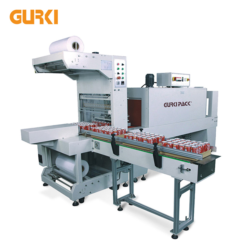 Automatic Sleeve Sealing and Tray Shrinking Wrapping Machine GPL-6030+GPS-6040