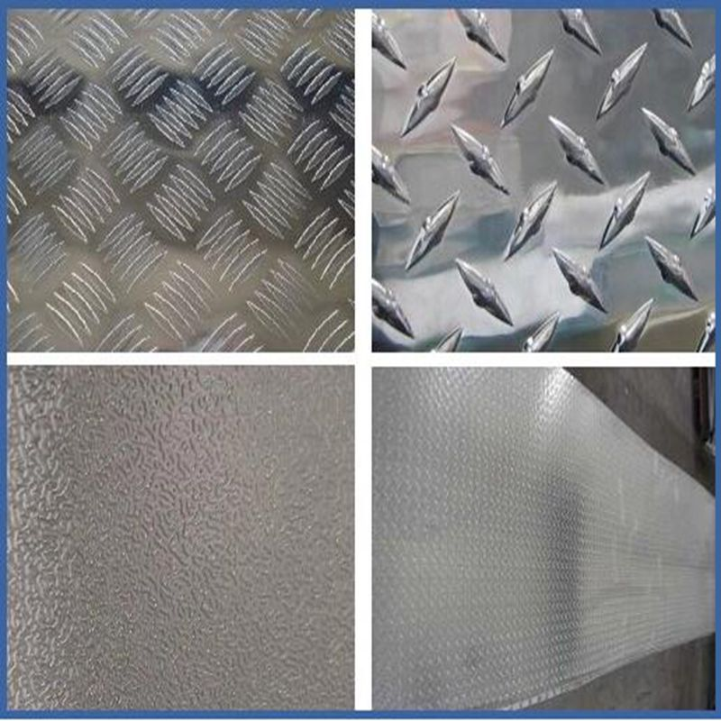 refrigeration using embossed aluminum coil 3003 3105