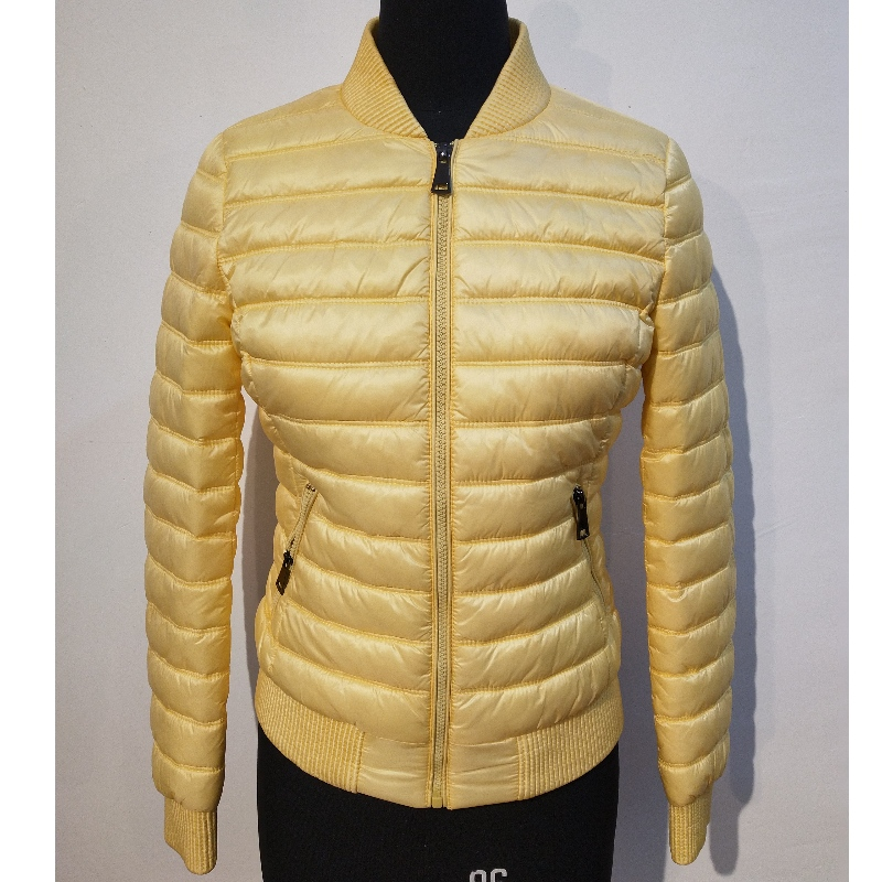 ladies' light warm coat (fack down jacket YE-1865)