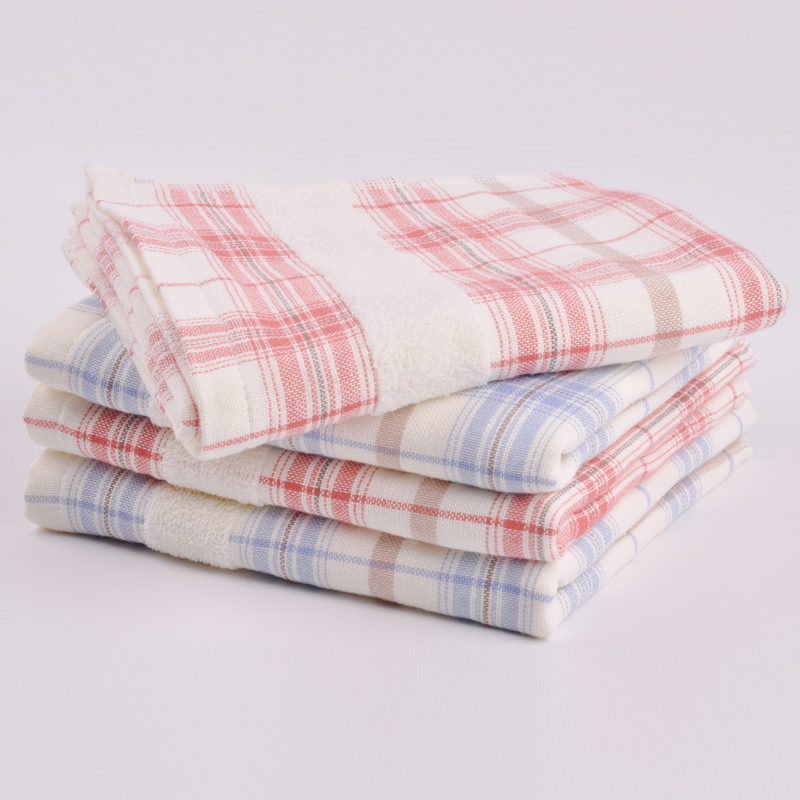 Single Loop Yarn Dyed Weaving Hand Towel