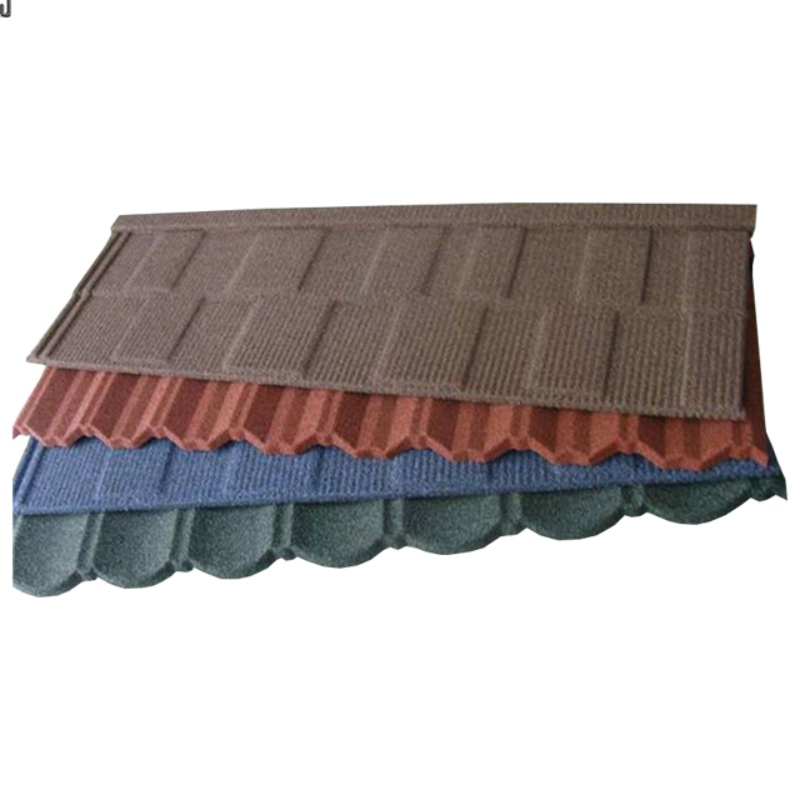 Why is colored stone metal tile better than traditional tile