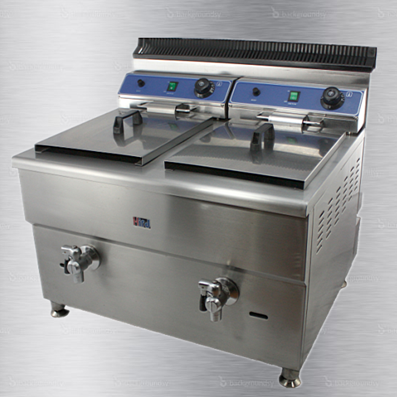 Counter top Gas fryer for retail