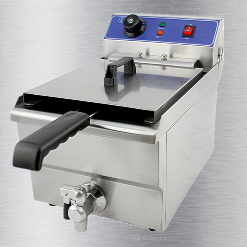 Electric Fryer with one tank distributor