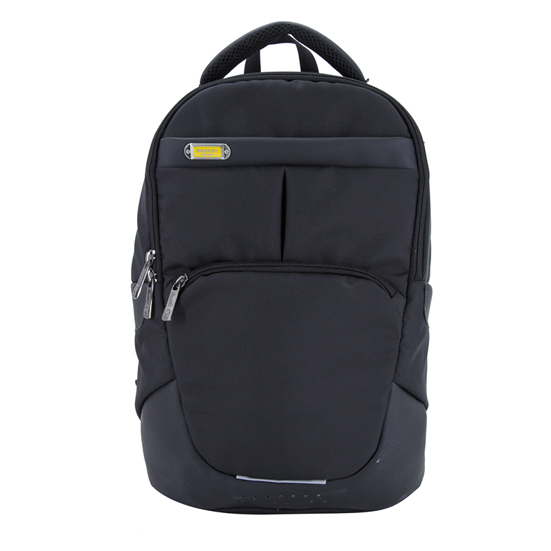 18SA-7476D Trendy Fashion Black University College Book Pack Computer Backpack Laptop Backpack Daypack