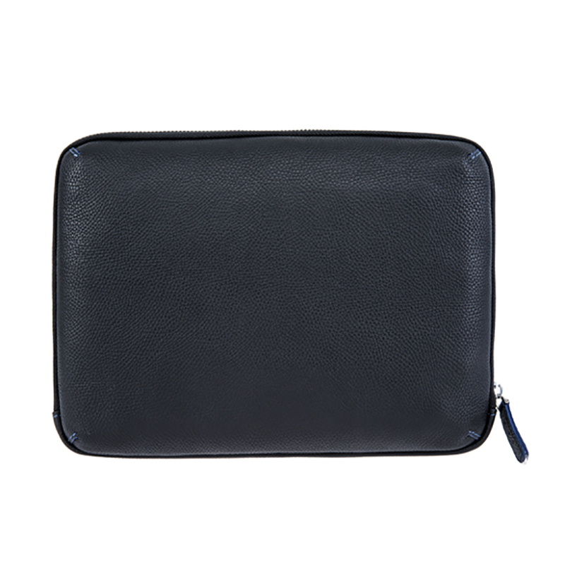 18SG-6831F Soft Litchi Texture Mens Bag Leather Handbag Compact Wrist Pouch Organiser bag for men