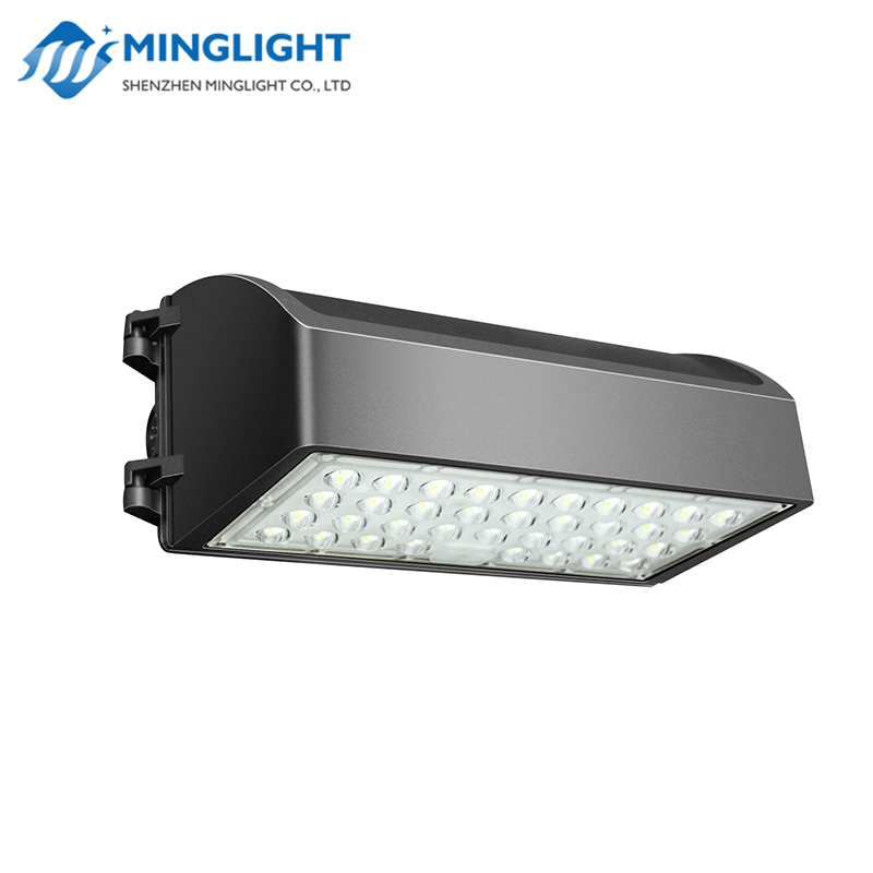 DLC ETL listed Dusk-to-Dawn IP65 full cutoff wall pack led light