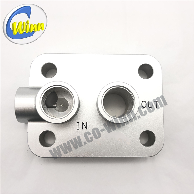 Customized CNC Machining Aluminum Auto Air Intakes Spare Parts After Sales Parts