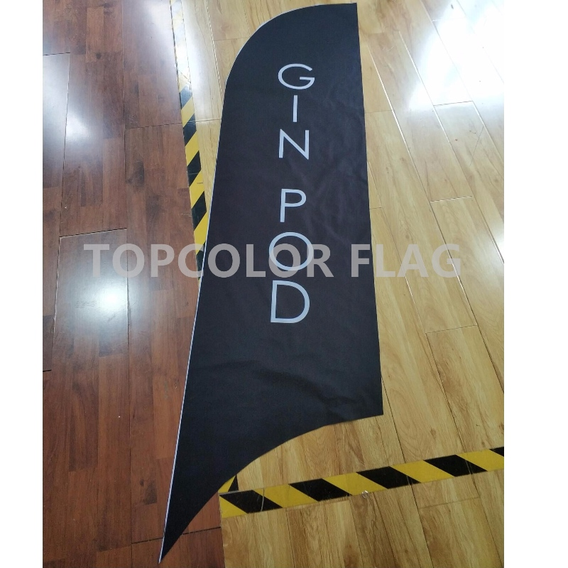 Advertising Outdoor Feather Flag