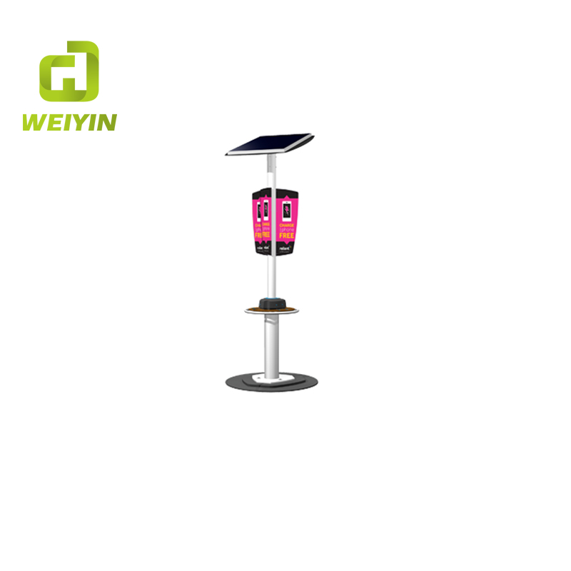 New Style Clean Solar Power Mobile Phone Charging Station for Outdoor