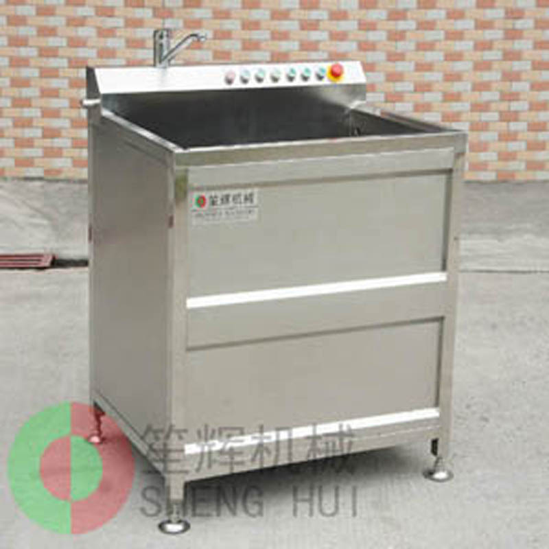 Fruit and vegetable washing machine shows convenience in life
