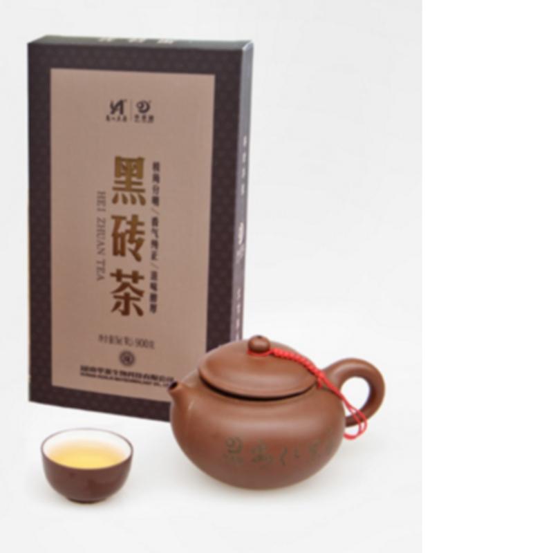 900g fuzhuan tea hunan anhua black tea health care tea