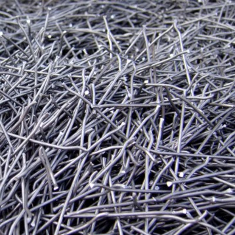 Hooked steel fibers