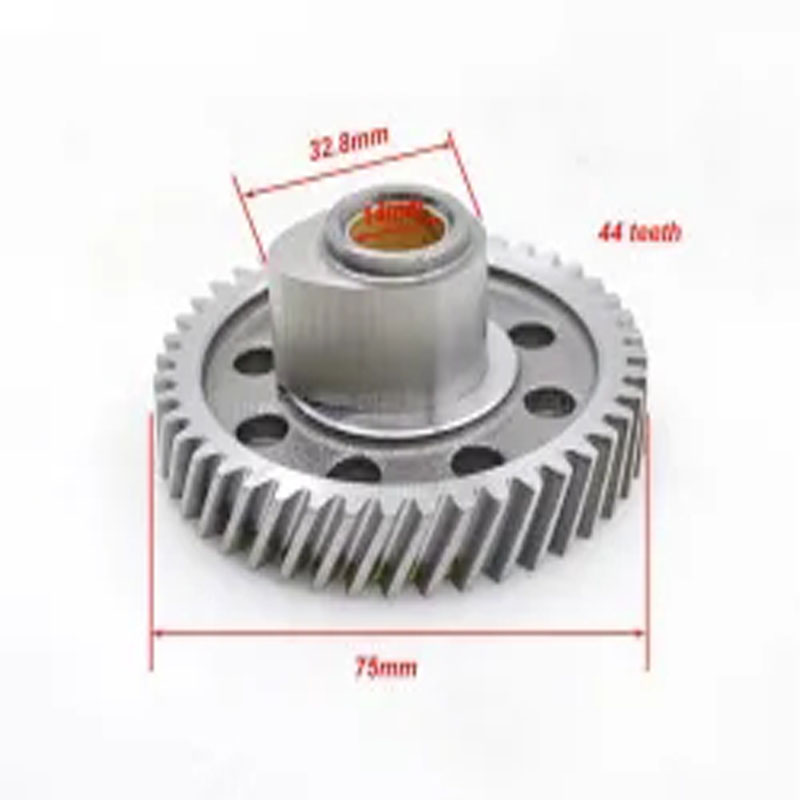 Large Heavy Forging Gear Pinion Shaft Gear Shaft Gearbox Auto Parts