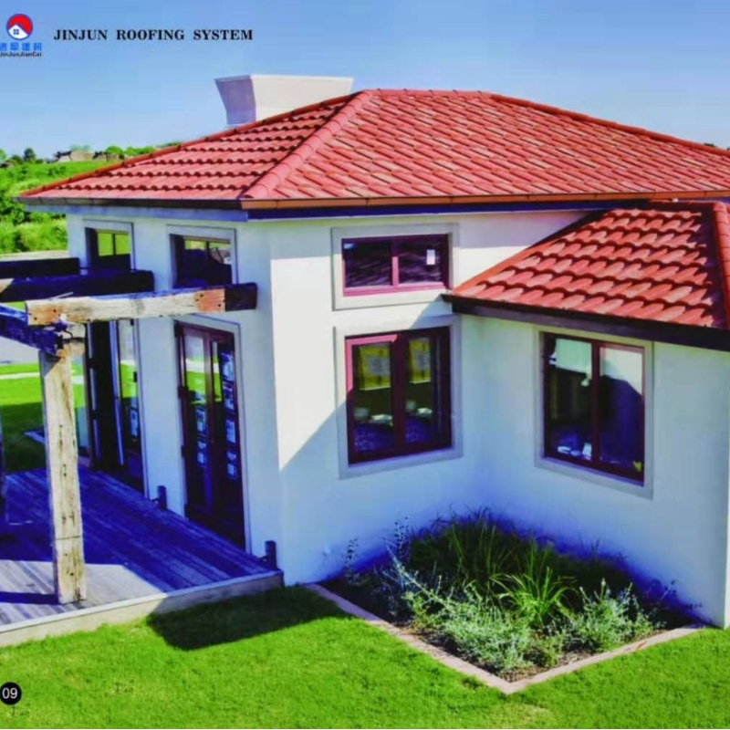 AIYIA steel supply metal building materials stone coated metal roof tile