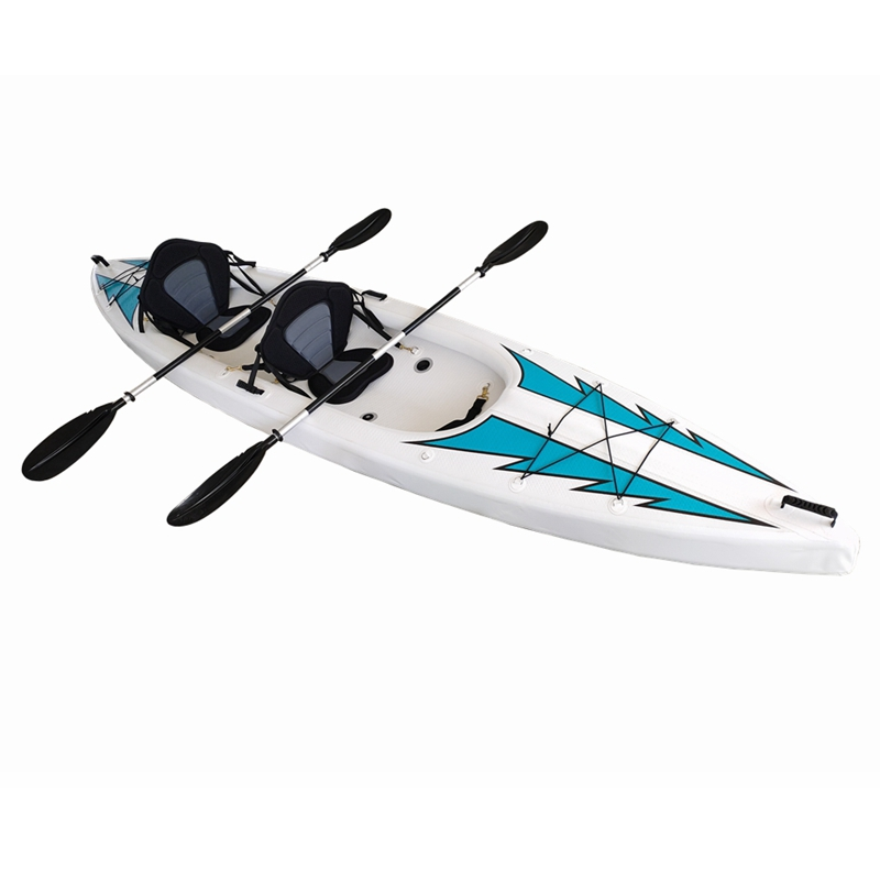 Doubel seat inflatable kayaks of drop stitch material