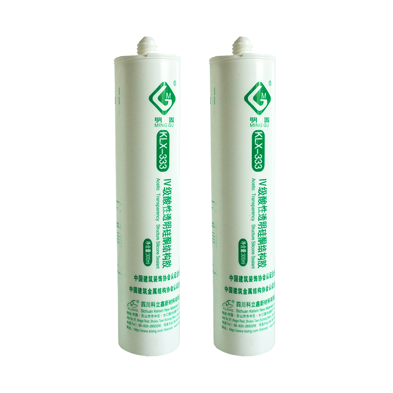 Transparent Acetic Silicone Sealants for house decoration and retrofitting