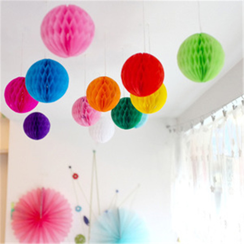 Ceiling decorations banners balloons ribbon garland for party wedding Chirstmas day