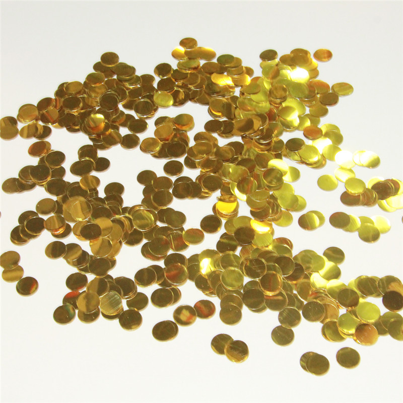 Metallic foil confetti Party Decoration with difference shape
