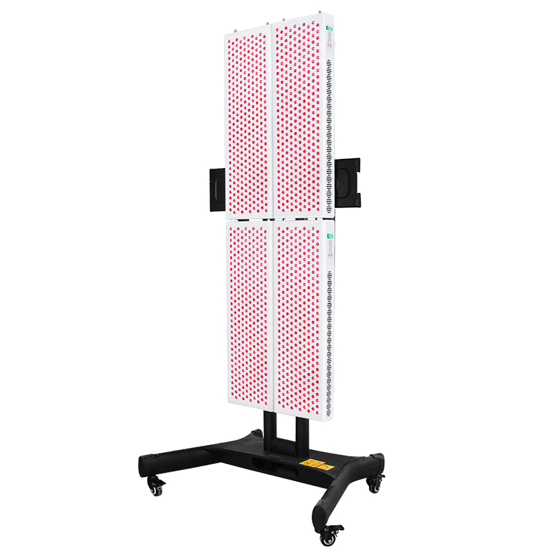 At Home Full Body Treatment Red & Near Infrared light  Light Therapy Device 660nm & 850nm Mobile Stand Kit